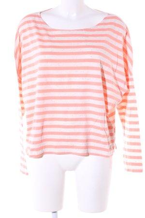 Lee Ringelshirt pink-weiß meliert Casual-Look