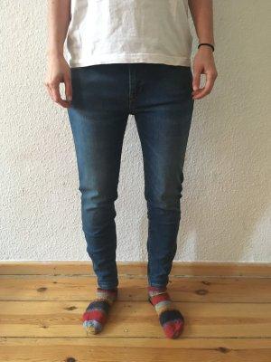 Lee Scarlett Cropped Skinny Denim Jeans, W28/L31