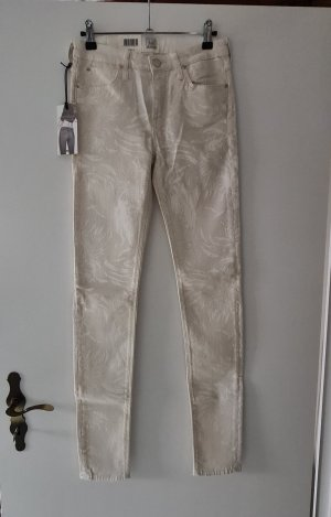 Lee Pantalon en jersey crème
