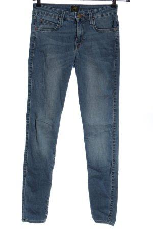 Lee Vaquero skinny azul look casual
