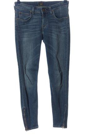 Lee Skinny Jeans blau Casual-Look