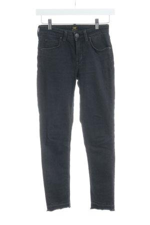 Lee Skinny Jeans dunkelgrau-anthrazit Casual-Look