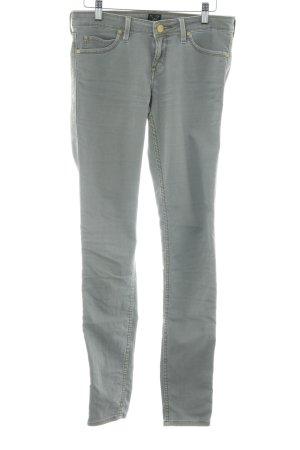 Lee Skinny Jeans graugrün Casual-Look