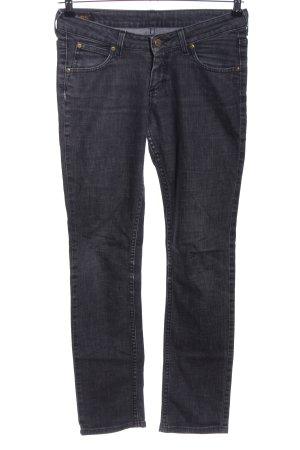 Lee Slim Jeans schwarz Casual-Look