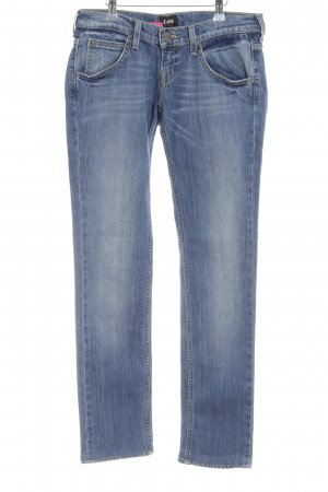 Lee Slim Jeans blassblau Casual-Look