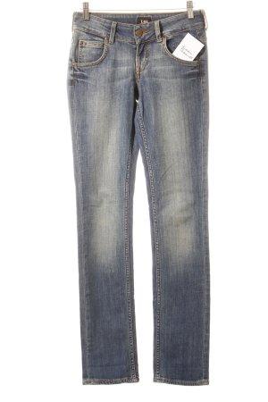 Lee Slim Jeans blassblau Jeans-Optik