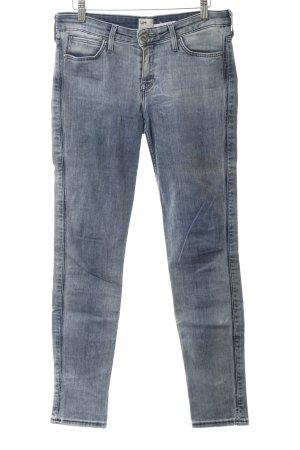 Lee Slim Jeans blau Washed-Optik
