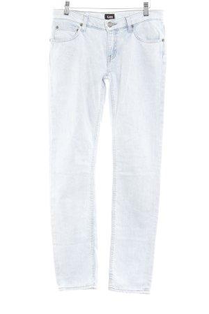 Lee Slim Jeans kornblumenblau Washed-Optik