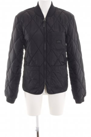 Lee Steppjacke schwarz Steppmuster Casual-Look