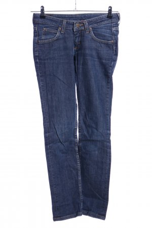 Lee Straight-Leg Jeans blau Casual-Look