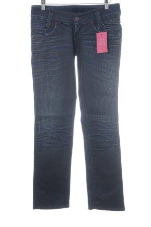 Lee Jeansy z prostymi nogawkami niebieski Jeansowy wygląd