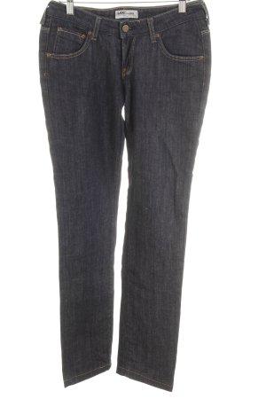 Lee Straight-Leg Jeans dunkelblau Casual-Look