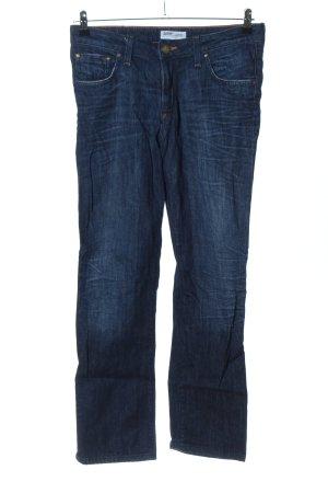 Lee Straight-Leg Jeans blau Casual-Look