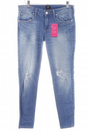 Lee Stretch Jeans kornblumenblau Jeans-Optik