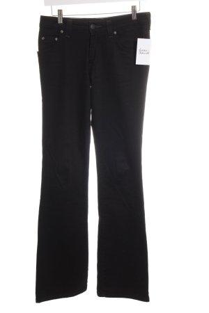 Lee Stretch Jeans schwarz schlichter Stil
