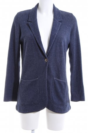 Lee Sweatblazer blau-weiß meliert Casual-Look
