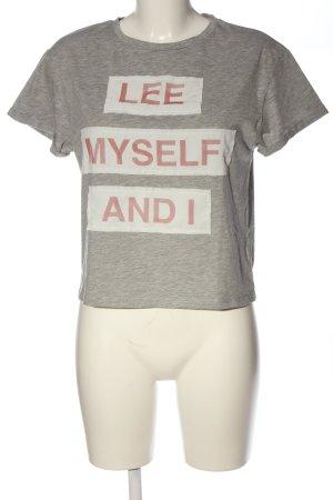Lee T-Shirt meliert sportlicher Stil