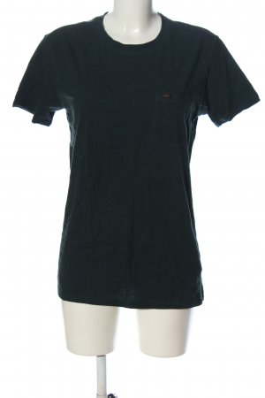 Lee T-Shirt grün Casual-Look