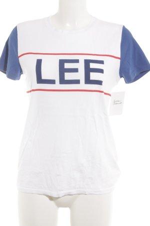 Lee T-Shirt mehrfarbig sportlicher Stil