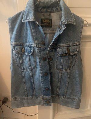 Lee Gilet en jean bleu