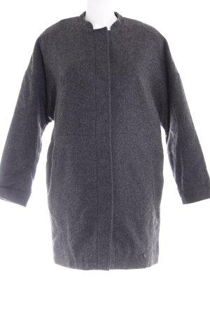 Lee Manteau en laine gris anthracite style décontracté