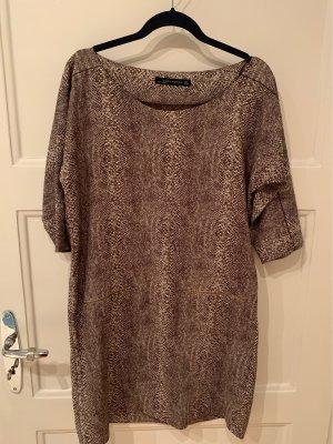 Leeopard mini dress