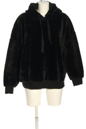 Lefties Hooded Sweater black casual look