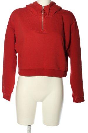 Lefties Hooded Sweatshirt red elegant
