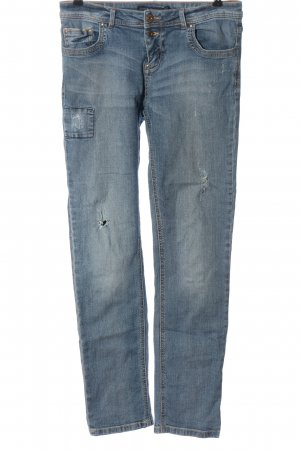 Lefties Tube Jeans blue casual look
