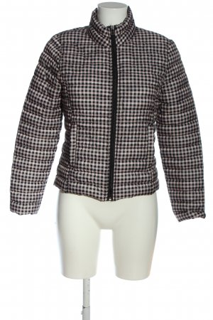 Lefties Quilted Jacket black-pink allover print casual look