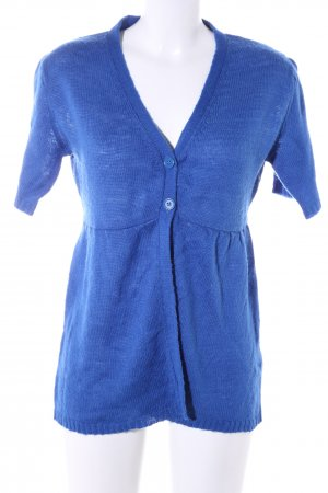 Lefties Strickjacke blau Casual-Look