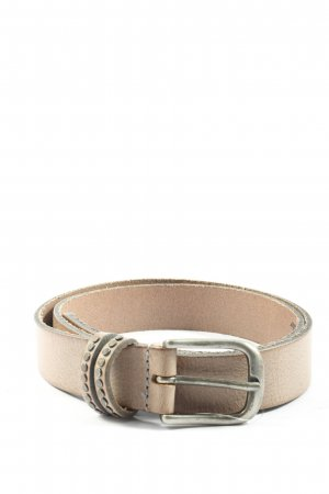 Legend Faux Leather Belt natural white casual look