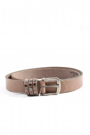Legend Faux Leather Belt brown casual look