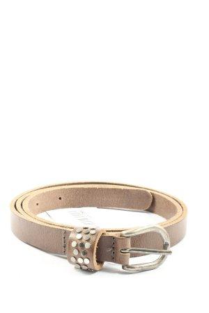 Legend Faux Leather Belt cream casual look