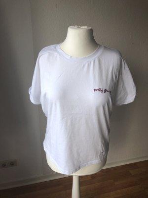 LeGer Shirt mit Stickerei