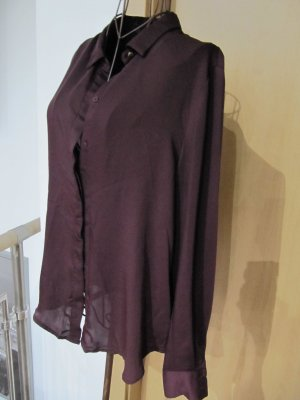 H&M Blouse-chemisier bordeau polyester