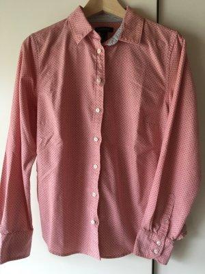 Lands' End Camicia blusa rosa-marrone scuro Cotone