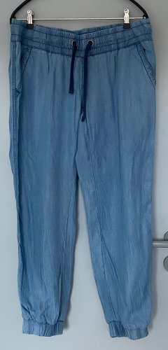 Jean Pascale Pantalone bloomers azzurro Lyocell