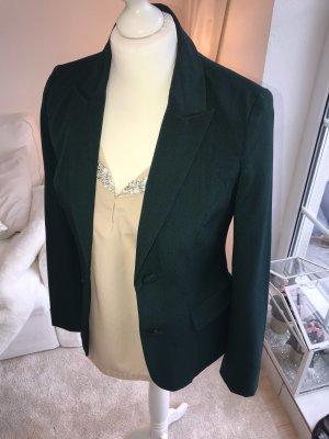 Ichi Blazer stile Boyfriend verde bosco-verde scuro