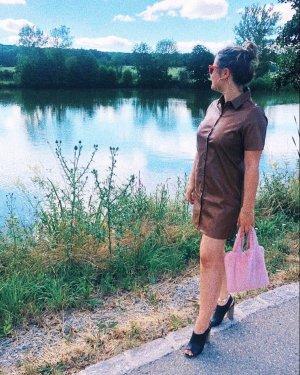 WEDNESDAY'SGIRL Vestito in pelle multicolore