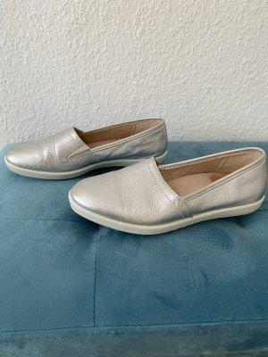 Legero Slippers silver-colored