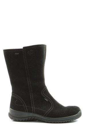 Legero Ocieplane buty czarny Nadruk z motywem W stylu casual