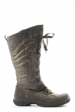 Legero Slouch Boots brown casual look