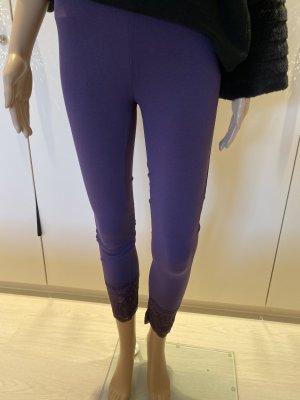 Legging violet foncé