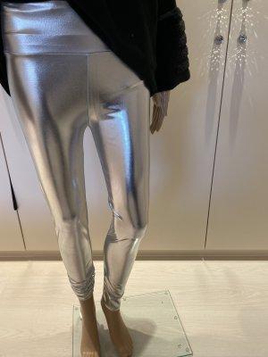 Legging argenté
