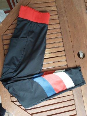 New Yorker Legging zwart-rood