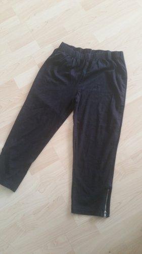 Leggings 3/4 schwarz Gr L