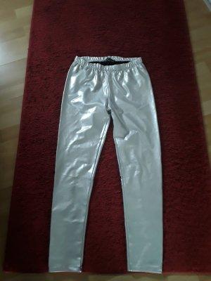 BODY FLIRT Leggings silver-colored