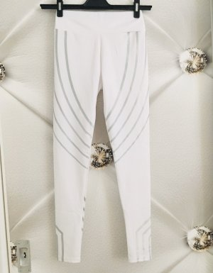 100% Fashion Legging wit-zilver