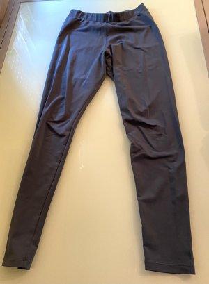 Leggings Adidas Gr. M, grau-blau